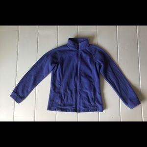 Columbia | Girls purple zipper fleece L (14/16)